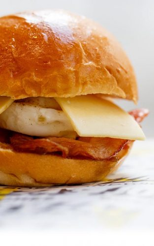 Bacon & Egg Brioche