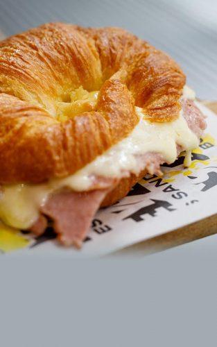 Ham & Cheesy Croissant