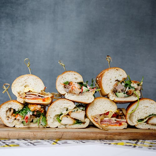 Peckish BOSS – Sandwich Platter